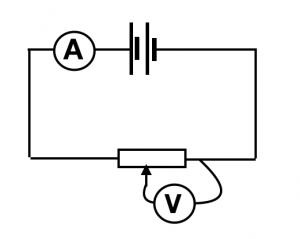 Formal potentiometer circuit diagram
